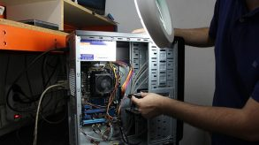 Storage for PC repair stores