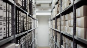 Greener office environment by using offsite storage