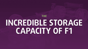 The incredible storage capacity of F1